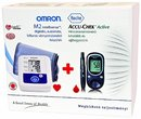 Omron M2 vrnyomsmr + AccuCheck Active vrcukorszintmr