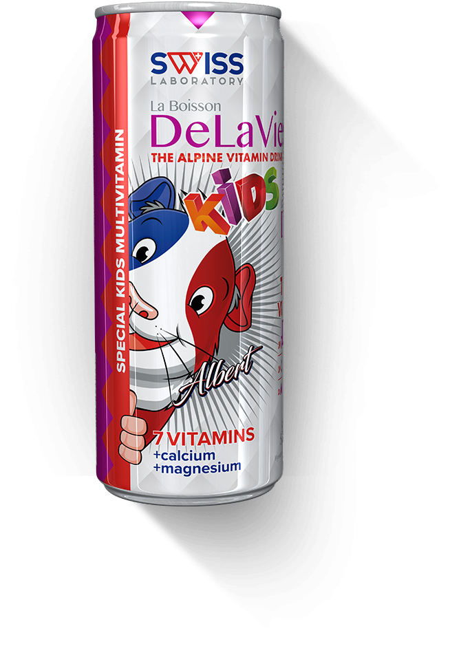 Swiss Laboratory Delavie Kids Gyerek Multivitamin