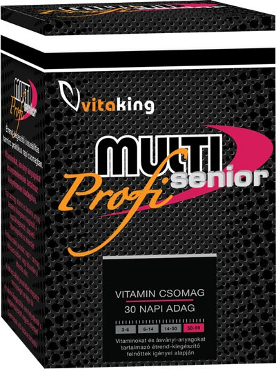 Vitaking Profi Multi Senior Havi vitamincsomag