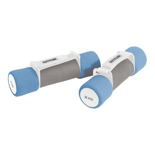 Kettler Aerobic Dumbbels Aerobic kézsúly párban 2x2,0 kg Powder blue bright-grey
