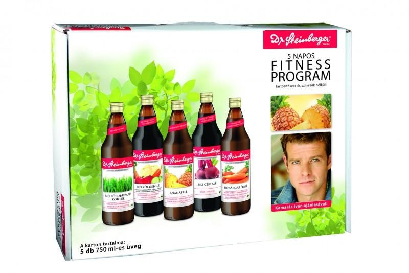 Dr.Steinberger 5 Napos Fitness program