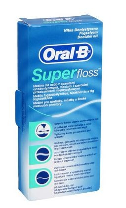 Oral-B Super Floss fogselyem