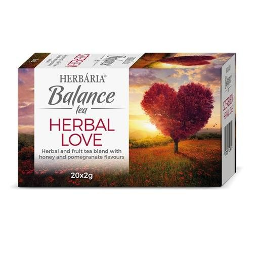 Wellness Balance Herbal Love filter 20x2g