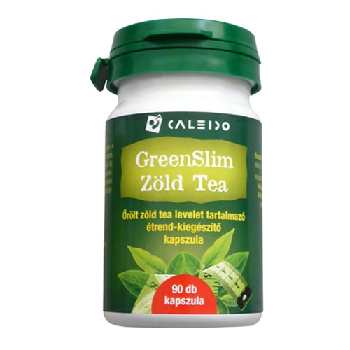 Greenslim Zöld tea kapszula