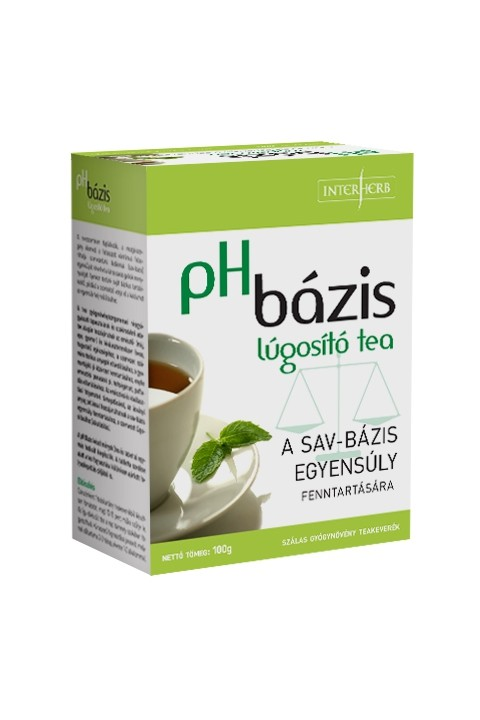 Interherb Vital pH Bázis lúgosító tea