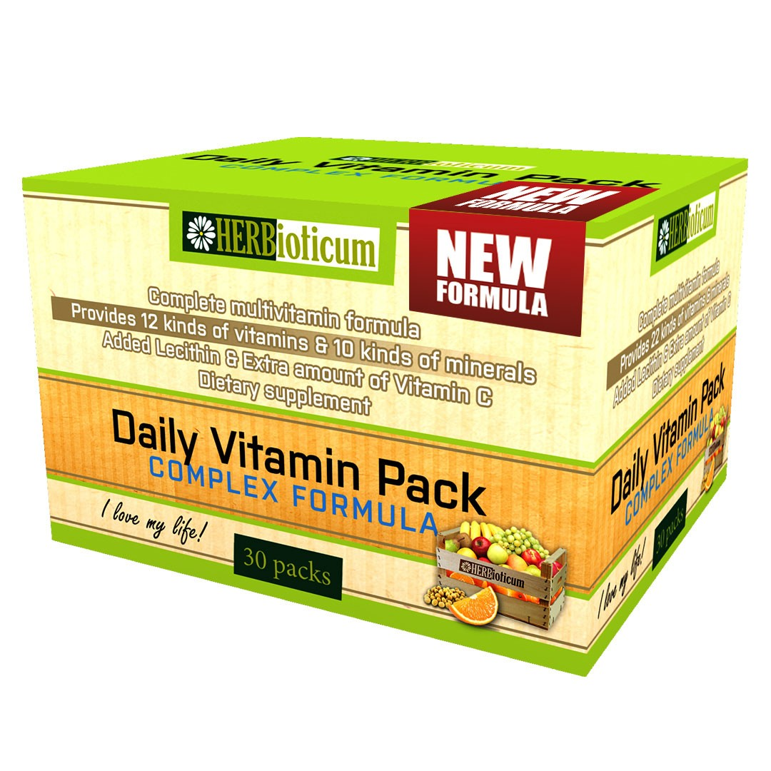 Herbioticum Daily Vitamin Pack New Formula 30 tasak