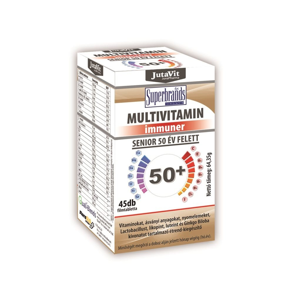 JutaVit Multivitamin Senior 50+ tabletta