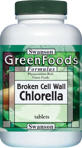 Swanson Chlorella alga 500mg tabletta