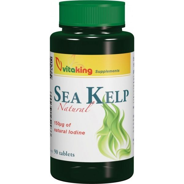 Vitaking Sea Kelp 100mg tabletta